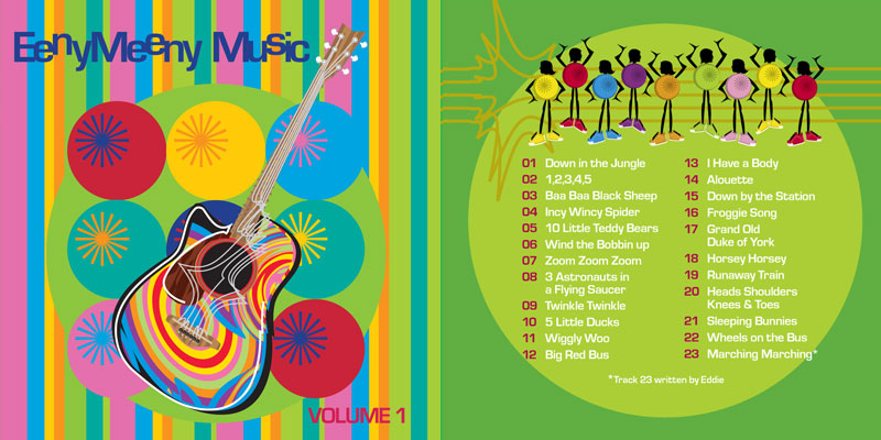 Eeny Meeny Music CD Volume 1
