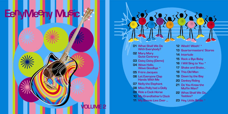 Eeny Meeny Music CD Volume 2