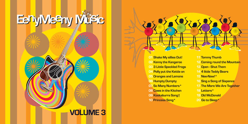 Eeny Meeny Music CD Volume 3