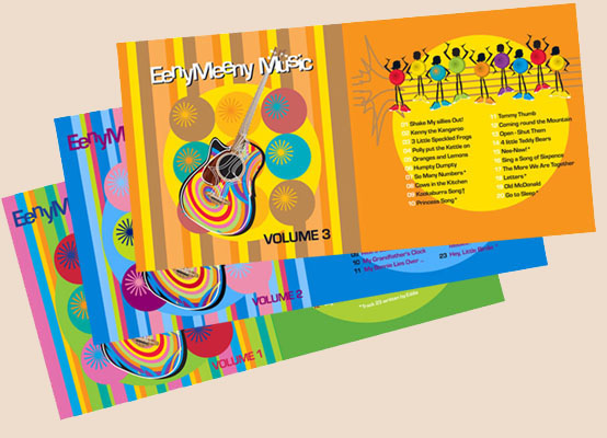 Eeny Meeny Music CD Volumes 1,2 and 3